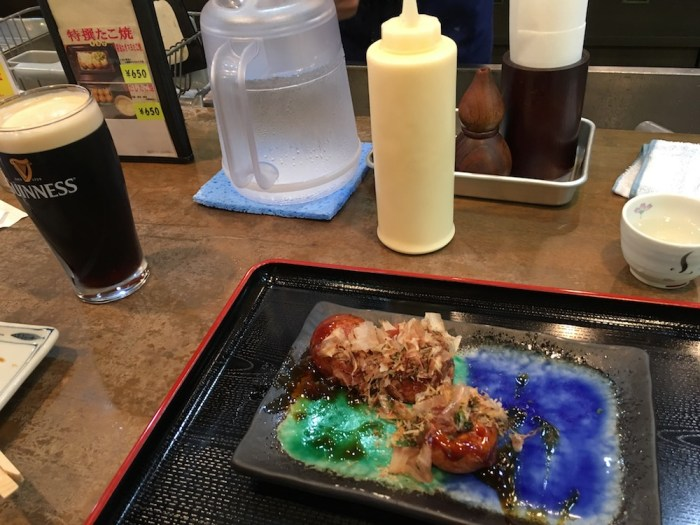 Takoyaki and Beer