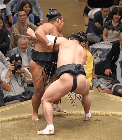 Harumafuji vs. Shohozan