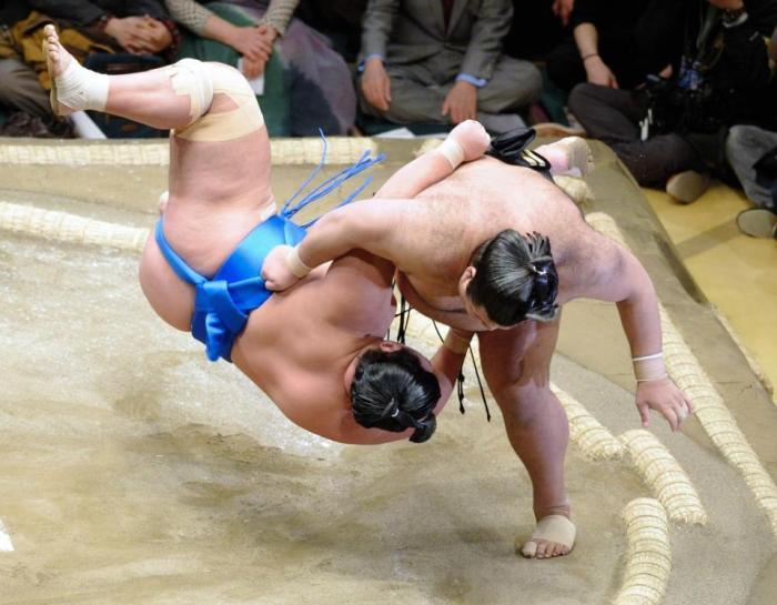 Kotoshogiku-Flying Lesson