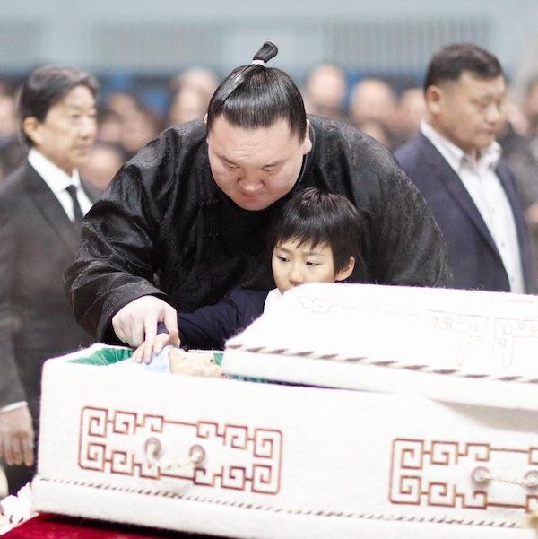 hakuho-funeral-son