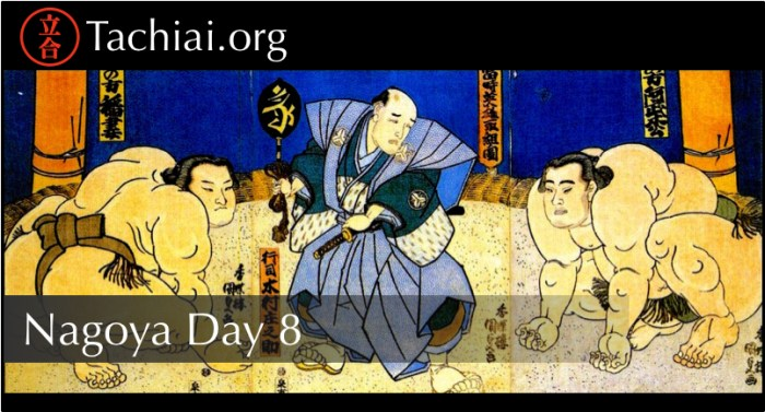 Nagoya Day 8 Banner