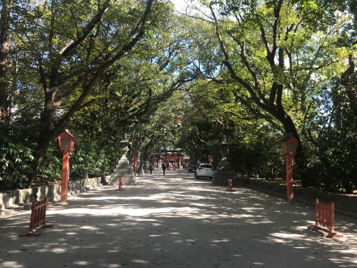 Sumiyoshi-jinja Shrine Fukuoka