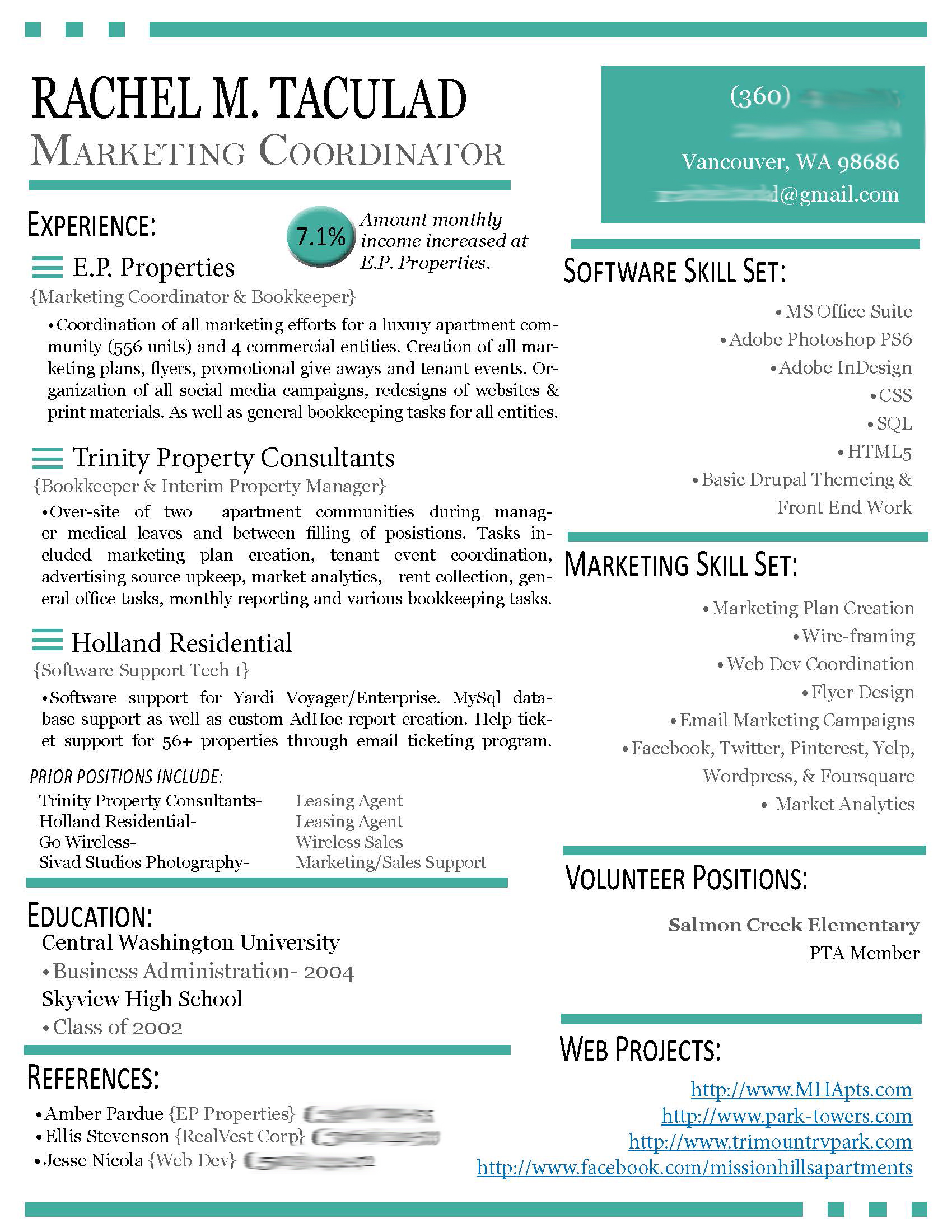 Contemporary Resume. resume2. contemporary resume templates modern ...