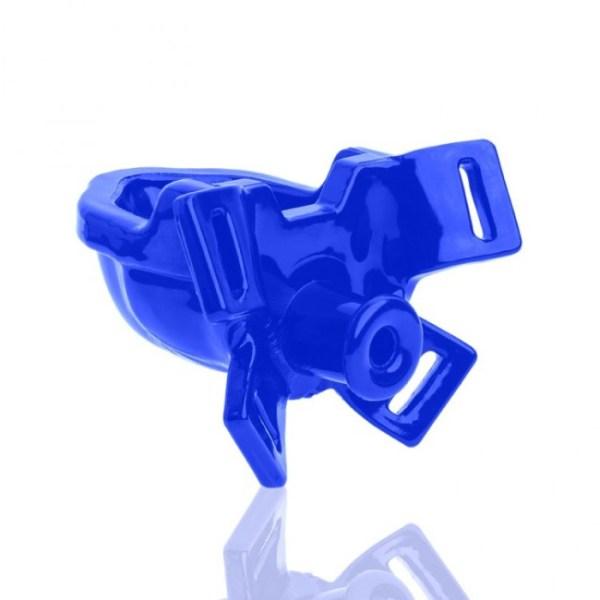 WATERSPORT strap-on gag, police blue