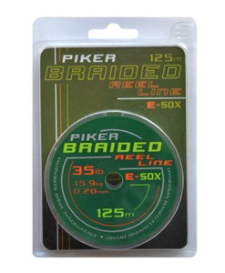 Piker Braided Reel Line