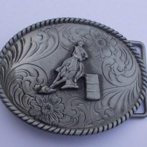 silver barrel racing