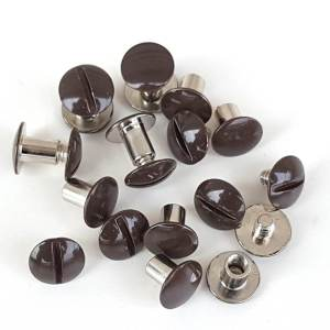1-4-enamel-brown-Chicago-Screw-hill-saddlery-leather-company-1