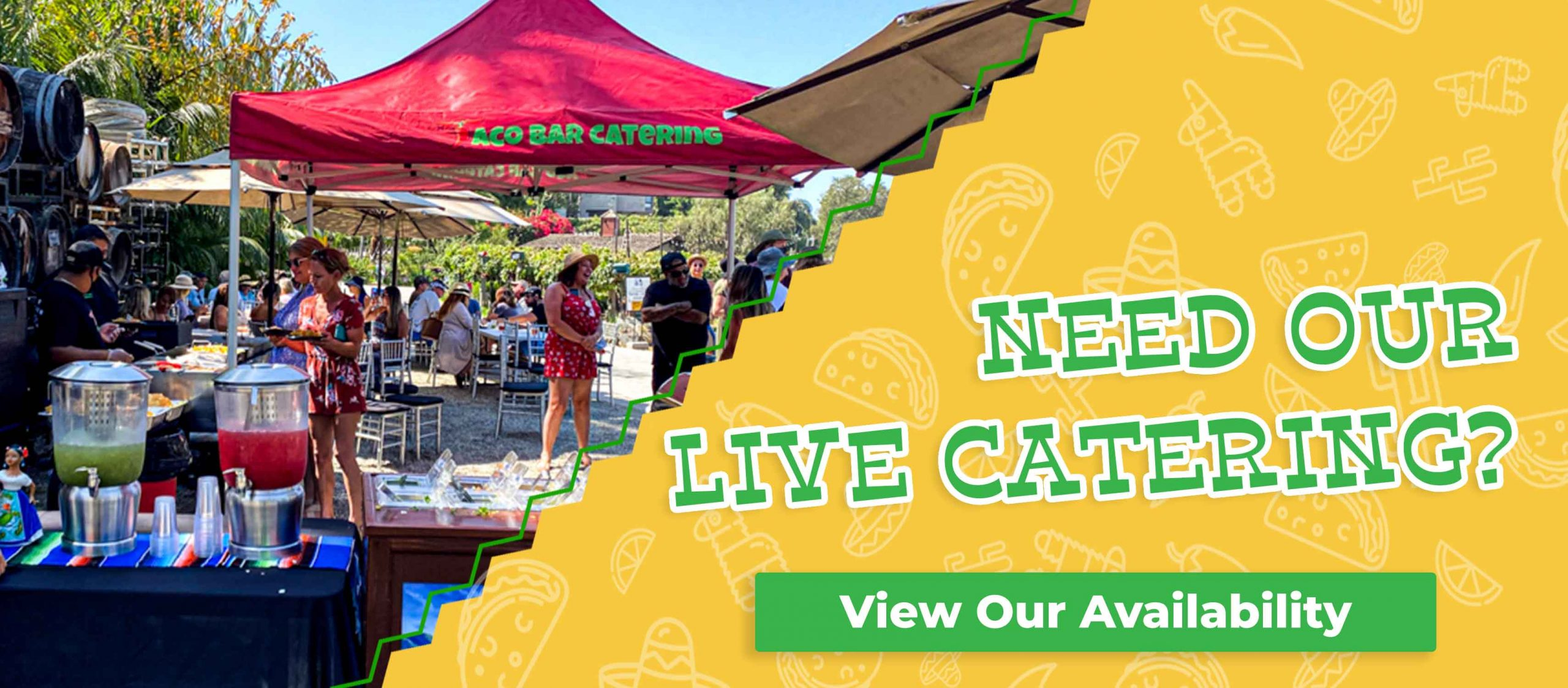 View Our Live Taco Guy Availability
