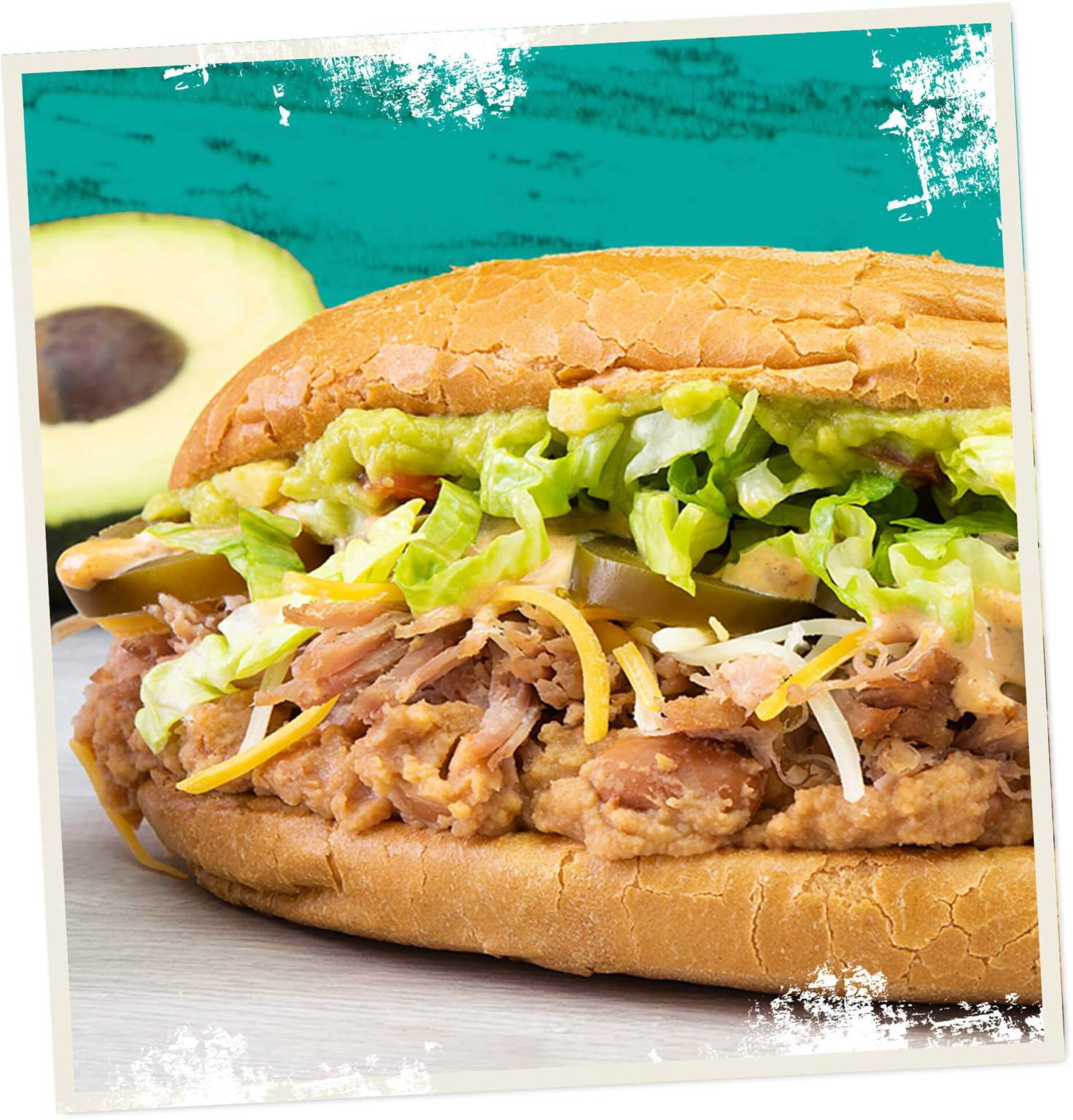 Mexican Torta Sandwich