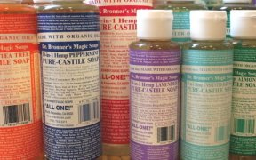 Dr Bronner's soaps