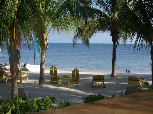 Beach of Ambergris Caye