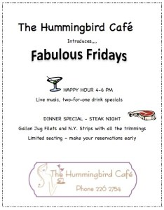 hummingbirg cafe ambergris caye