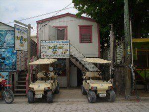 Capt G's cart rental