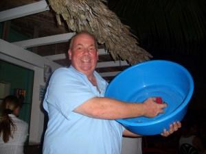Robbie selling jello shots