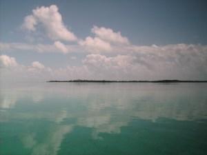 Calm clear water