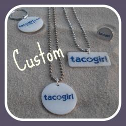 Custom tacogirl bling by Sofa City Sweethearts