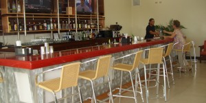 Bar 208 at Tropic Air San Pedro Belize