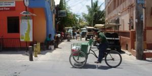 Peddle cart  Down Town San Pedro