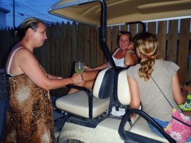 Golf Cart Rental Ambergris Caye