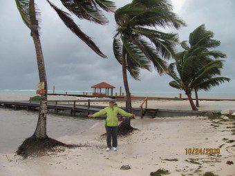 Tropical Storm Richard Belize