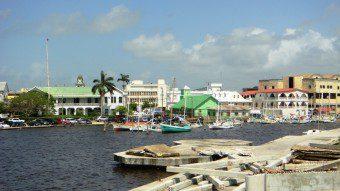 Harbor view Belize City