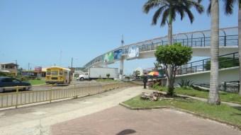 Belize City foot bridge