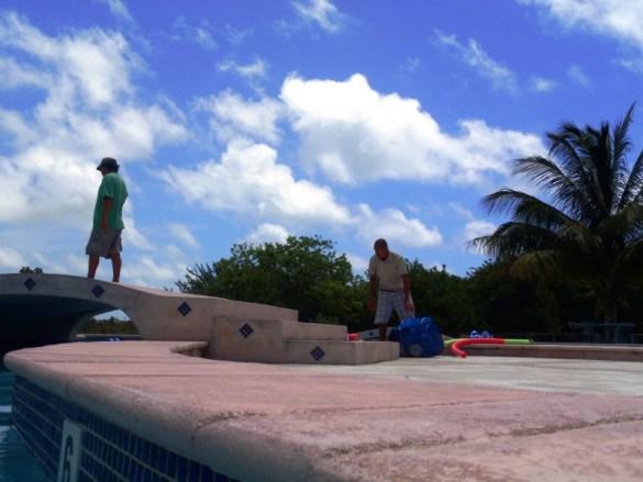 Aquafit Classes San Pedro Fitness Club Ambergris Caye Beliz