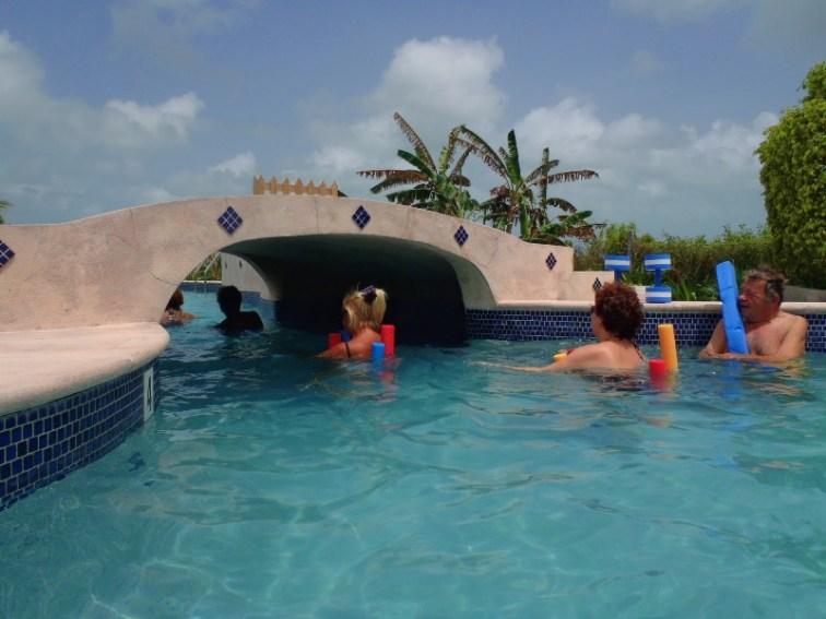 Aquafit class San Pedro Fitness Club San Pedro Belize
