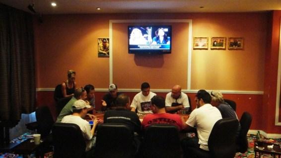"""Badih """"Bob"""" Bounahra in 2011 WSOP November Nine"""