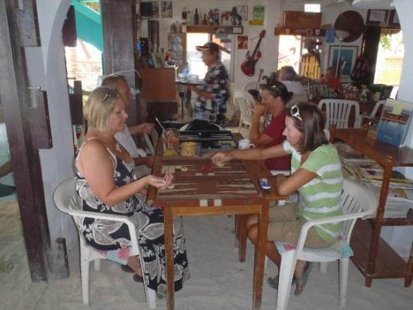 San Pedro Belize Backgammon tournamnt
