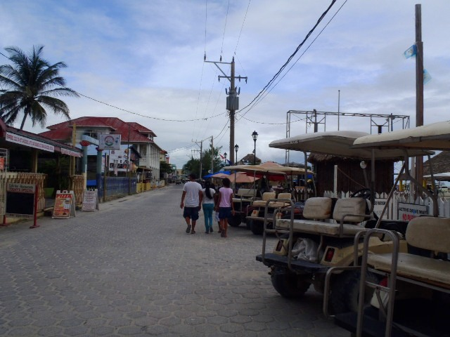 san pedro town belize pictures