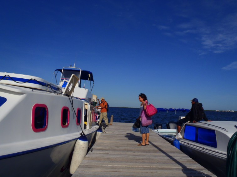 boat in belize picture