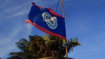 belize flag picture
