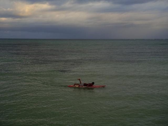 surfing belize