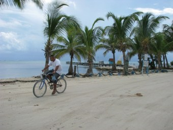belize beach picture