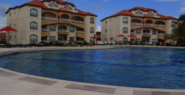 I got grounded near Grand Caribe Resort