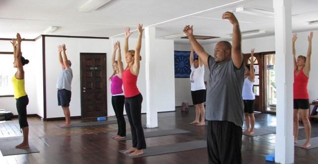 Get Zen at Exotic Caye Yoga Classes