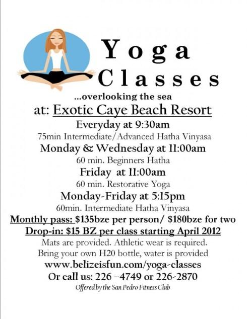 belize yoga resort