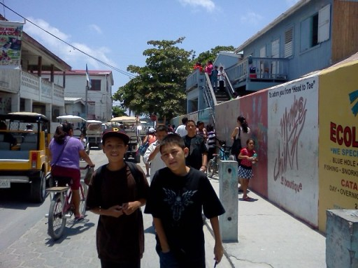 ambergris caye belize picture