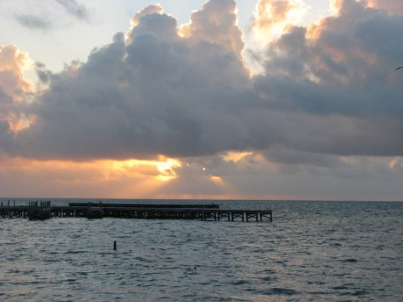belize sunrise pictures