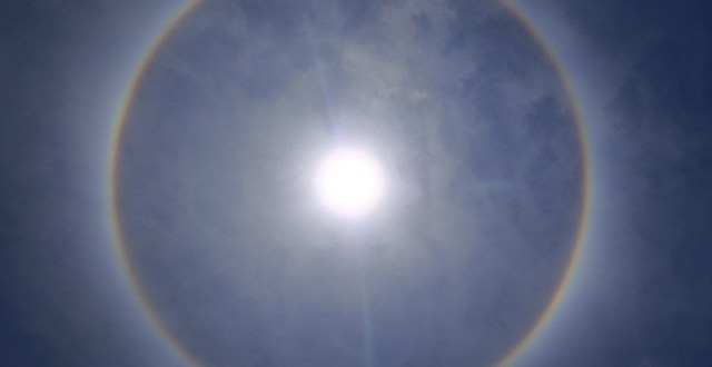 Solar Halo Over San Pedro