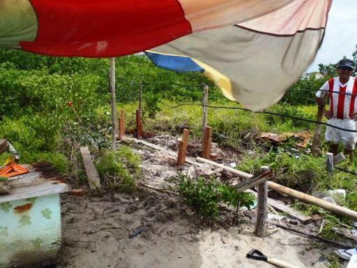 waste water garden ambergris cate belize