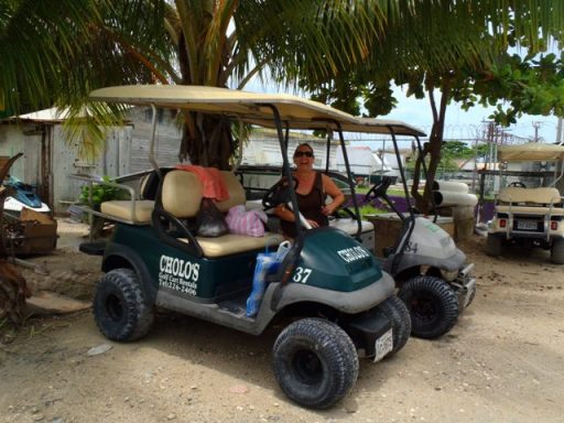 golf cart rental ambergris caye