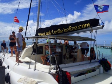belize catamaran