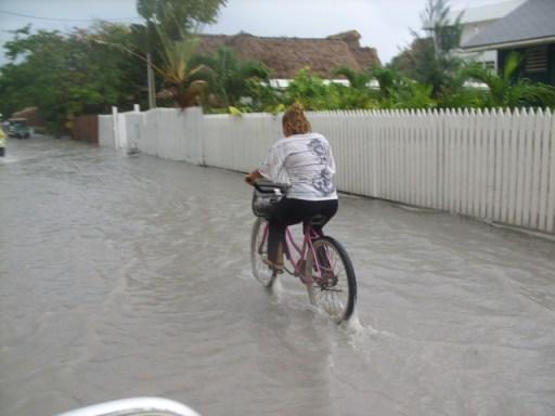 San Pedro Belize Weather is rainy