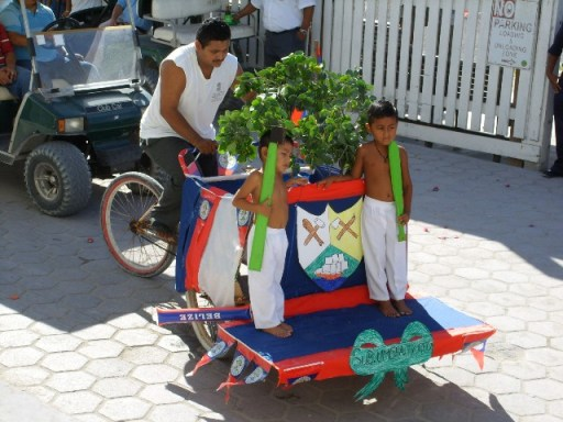 september celebrations belize flag picture