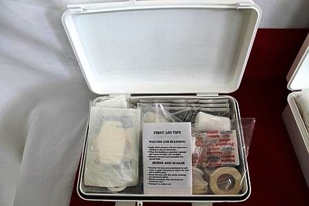 medical safety kit belize red cross