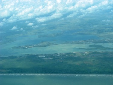 flying from san pedro to placencia on maya air