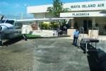 maya air flight to placencia airport