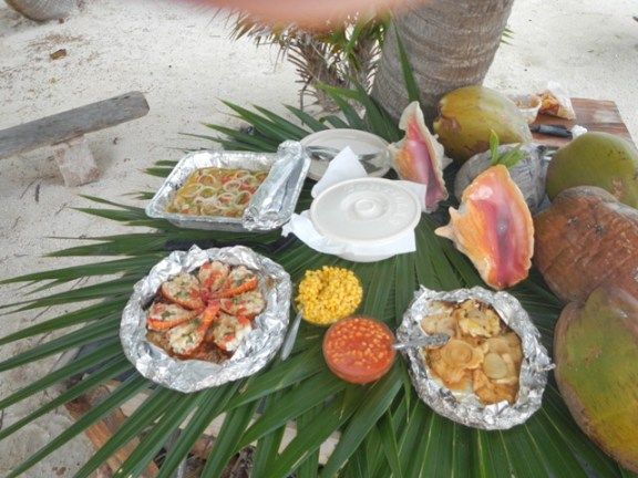 belize lobster and conch ceviche
